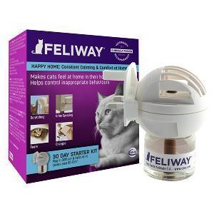 Feliway Classic Cat & Kitten Stress Reducing Pheromone Diffuser & Refill Starter Kit