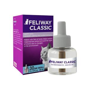 Feliway Classic Cat & Kitten Stress Reducing Pheromone 30 Day Refill