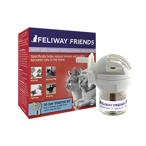 Feliway Friends 30 Day Starter Kit Diffuser and Refill For Cats