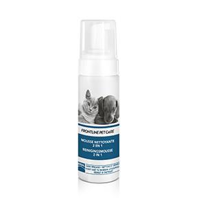 Frontline Pet Care Mousse Nettoyante 2 en 1