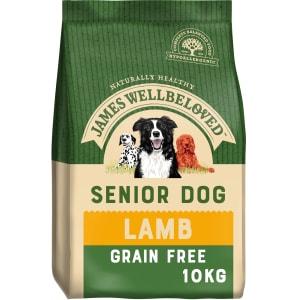 James Wellbeloved Dog Senior Grain Free met lam en groente
