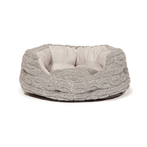Danish Designs Bobble Pewter sluimerbed