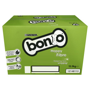 Boîte de biscuits BONIO Happy Fibre pour Chiens Adultes