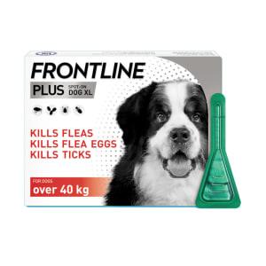 Frontline Plus Flea & Tick XL Dog (40kg+)