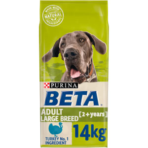 BETA Adult Large Breed Dry Dog Food with Turkey 14kg