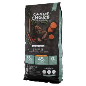 Canine Choice Senior Light Medium & Maxi Hundefutter