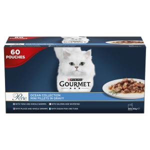 Gourmet Perle Cat Food Ocean Collection 60x85g