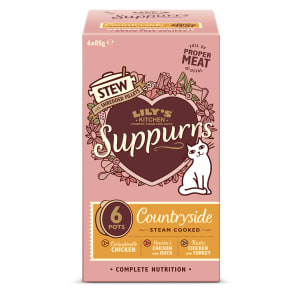 Lily's Kitchen Suppurs Countryside Stew Multipack for Cats