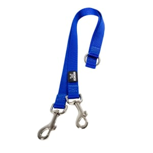 Kokoba Double Coupler for Dog Leads in Blue