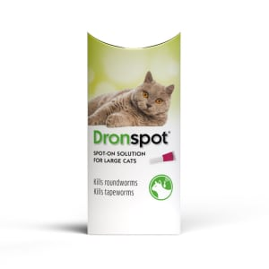 Dronspot Spot Wormer for Large Cats (5 to 8kg)