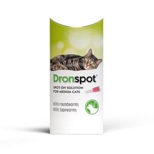 Dronspot Wormer for Medium Cats