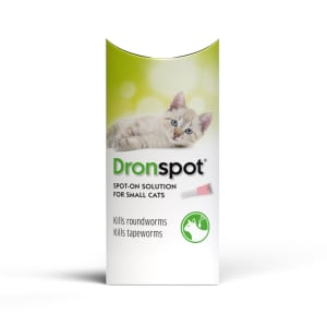 Dronspot Wormer for Small Cats