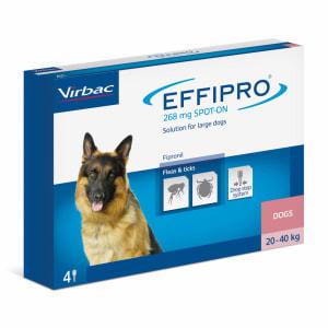 Effipro Spot On voor honden (20-40kg)