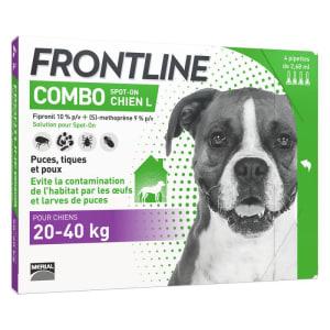 Frontline Combo pour Grand Chien (20-40kg)