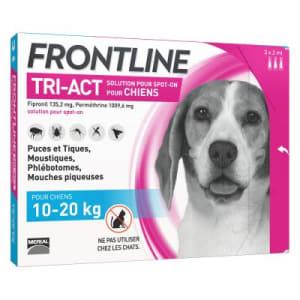 Frontline Tri Act pour Moyen Chien (10-20kg)
