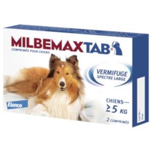 Milbemax Comprimés pour Chiens (>5kg)