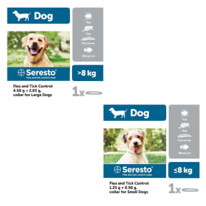 Seresto Flea and Tick Control Collar for Dogs