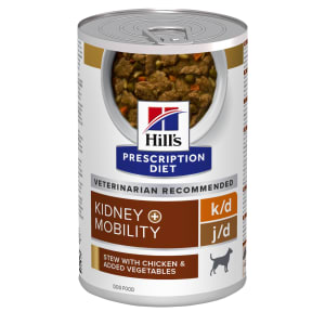 Hill's Prescription Diet Canine k/d and Mobility Chicken Stew