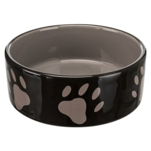 Trixie Keramik Haustier Schale mit Pfote Drucke