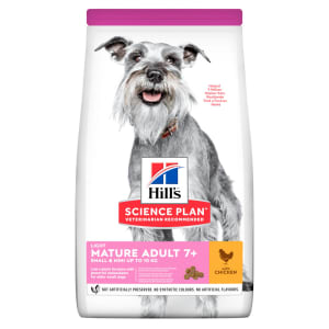 Hill's Science Plan Canine Small & Mini Mature Adult Light Huhn