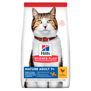Hill's Science Plan Mature Adult 7+ Dry Cat Food Huhn