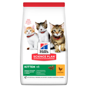 Hill's Science Plan Kitten <1 Dry Food Huhn