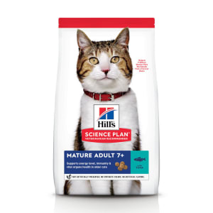 Hill's Science Plan Mature Adult 7+ Dry Cat Food Thunfisch