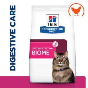 Hill's Prescription Diet Gastrointestinal Biome Stoofpotje voor Katten met Kip & toegevoegde Groenten