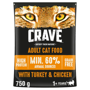 Crave Turkey & Chicken Dry Cat Food