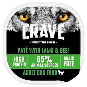 Crave Lamb & Beef Loaf Dog Tray