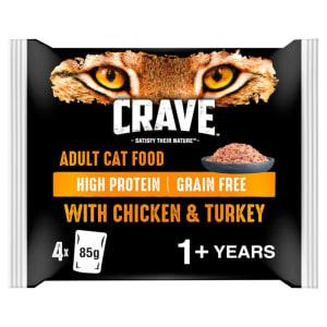 Crave Poulet et Dinde Loaf Cat Pouch