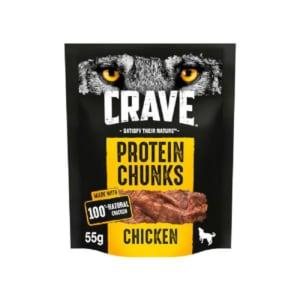 Crave Huhn Protein Chunks für Hunde