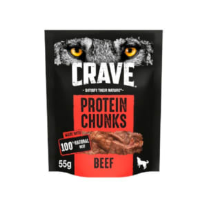 Crave Boeuf Protein Chunks Dog