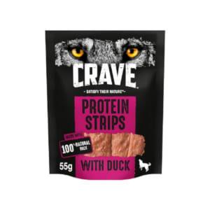 Crave Duck Protein Strips Dog