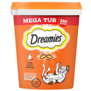 Dreamies Cat Treats Megatub Chicken