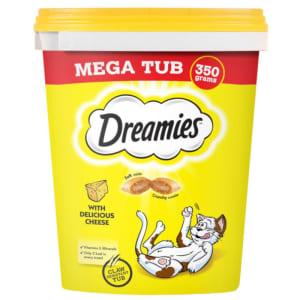 Dreamies Cat Treats Megatub Cheese