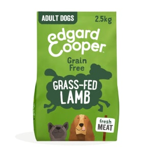 Edgard & Cooper Grain Free Grass-Fed Lamb Dry Dog Food Adult