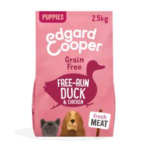 Edgard & Copper Grain Free Free-Run Duck & Chicken Dry Dog Food Puppy