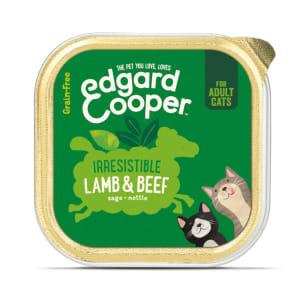 Edgard & Cooper Grain Free Irresistible Lamb & Beef Cat Food Cup Adult