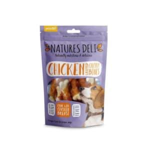 Natures Deli Chicken Wrapped calcium bones