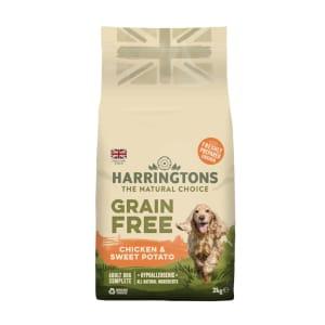 Harringtons Grain Free Hypoallergenic Chicken & Sweet Potato Dry Dog Food