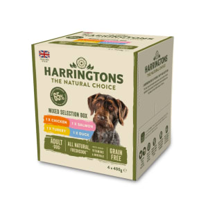Harringtons boîte de sélection mixte pour chien