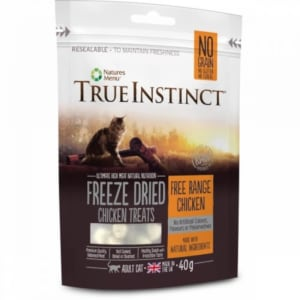 True Instinct Freeze Dried Treat Chicken Cat