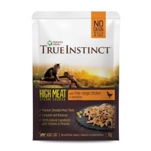 True Instinct High Meat Free Range Chicken Cat