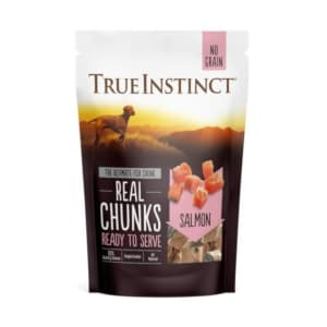True Instinct Real Salmon Chunks
