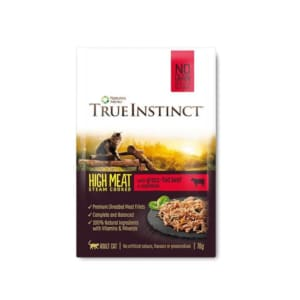 True Instinct Pouch Beef Fillet Cat