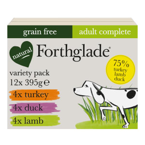 Forthglade Complete Grain Free Adult Wet Dog Food Variety Case
