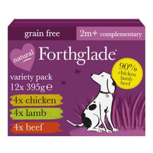 Forthglade Adult Wet Dog Food - Variety Case