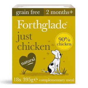 Forthglade Just 90% Chicken Grain Free Wet Dog Food