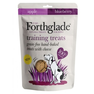 Forthglade Grain Free Baked Training Treats with Cheese, Apple & Blueberry